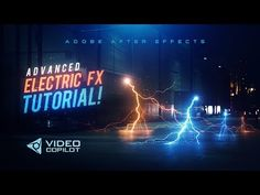 (1) Advanced Electric FX Tutorial! 100% After Effects! - YouTube
