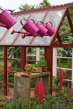 Colorful & inspiring at Malmö Garden Show 2013. #colorful #delight #gardening #creativity