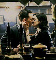 Tom Hiddleston and Rachel Weisz in The Deep Blue Sea, Dir. Terence Davies, 2012