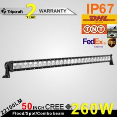 200.36$  Buy now - http://aliv0w.worldwells.pw/go.php?t=32738763763 - Tripcraft Promotion 50 INCH CREEs 260W LED LIGHT BAR FOR Ramp Lamp OFF ROAD RAMP LIGHT BAR FLOOD LED DRIVING LIGHT LED BAR LIGH
