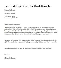 Employee appointment letter which you can use while issuing an experience letter in ms word format for yahoo image search results altavistaventures Image collections