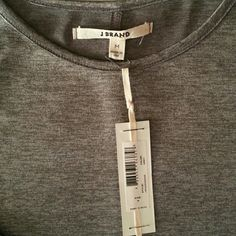 J brand high low long sleeve NWT High low grey long sleeve new with tags J Brand Tops Tees - Long Sleeve