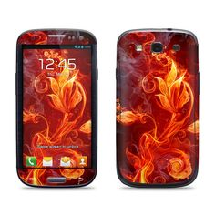 Samsung Galaxy S3 Phone Case Cover Decal  Fire by skunkwraps, $9.95