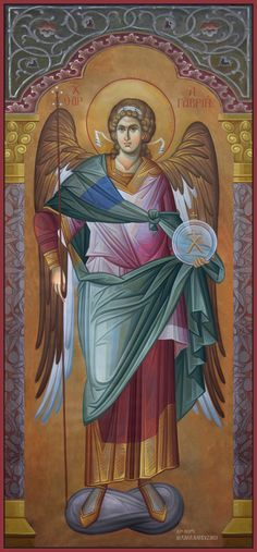 The Holy Archangel Michael, Commander of the Angelic Hosts. Byzantine Art, Byzantine Icons, Angels Among Us, Angels And Demons, Religious Icons, Religious Art, Angel Protector, Archangel Raphael, Raphael Angel