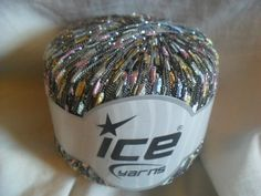 Rare Metallic Ladder Yarn by ICE Yarns Color Spring by CraftEZ
