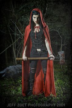 Badass Red Riding Hood.