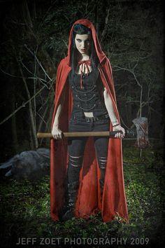 I love me a badass Red Riding Hood.