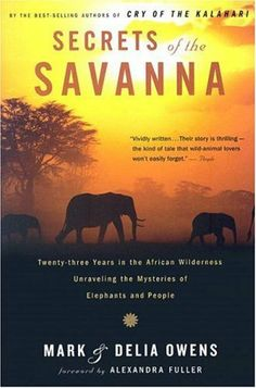 The authors describe their many years in Africa working to save the elephants and other wildlife decimated by poachers, as well as the poverty-stricken nearby villages, a quest that led to threats against their own lives that forced them out of Zambia.