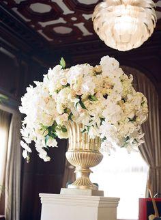 Floral: Jackson Durham #jacksondurham #weddingfloral #whitefloral #orchids…