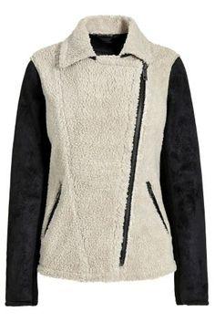Buy Borg Biker Jacket from the Next UK online shop