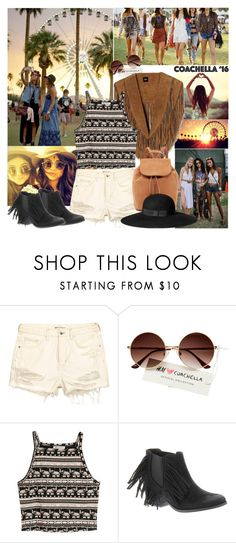"""""""Pack for Coachella 2016"""" by reka97 ❤ liked on Polyvore featuring Coconuts, H&M and packforcoachella"""