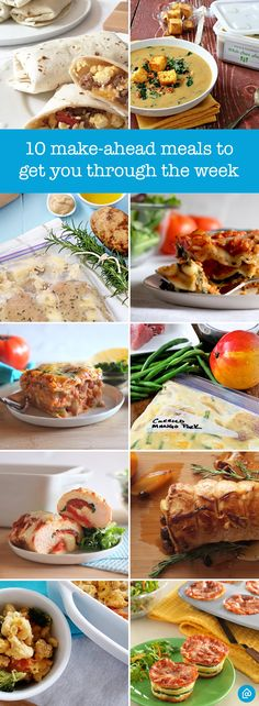 Meet busy head-on with a freezer full of homemade meals: Lasagna cupcakes, slow…