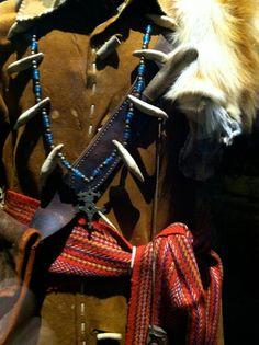"""Fur trapper's outfit. """"Spirit of the Old West"""" exhibit. Blackhawk Museum. Danville, CA Zippertravel.com Digital Edition"""