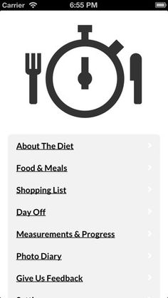 Great app for keeping track of the Slow Carb Diet.  I've been using it for about two weeks and it's made easy to stay on top of this diet and the recipes are great!