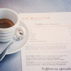 #italiancoffeesecret #piaschenk @ca_puccinoMI We do all the classics, but we can also make it special.