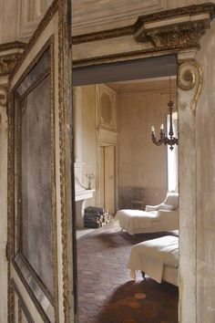 Beautiful french chateau style, what a gorgeous bedroom!