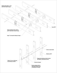 de acero Metal Stud Framing, Steel Framing, Steel Frame Construction, Steel House, Steel Buildings, Backyard Projects, Frames On Wall, House Plans, How To Plan