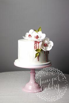 Magnolia cake by Juniper Cakery
