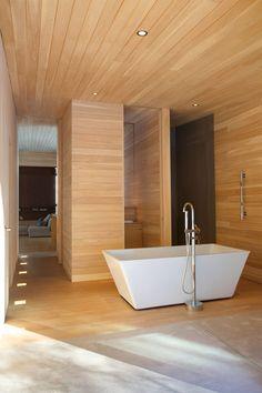 Architecture, Beautyful La Luge Modern Cottage Bathroom: Wonderful La Luge Residence Contemporary Cottage-like Home