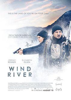 風河谷謀殺案|Wind River|107min / 2017 |#TaylorSheridan #KelseyAsbille #JeremyRenner #JuliaJones |#Crime #Drama #Mystery #UK | Canada | USA #Movie #Poster