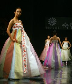 Ugly Dress of the Week: Herpzilla Invades Korea | The Not: a Wedding Blog From a Cussin', Fussin' Matrimonial Malcontent