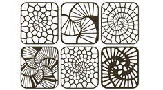 <b>Fibonacci</b> + Voronoi 1 - Grasshopper