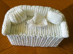 Crochet Tissue Box Covers - Tobita's Crochet Items