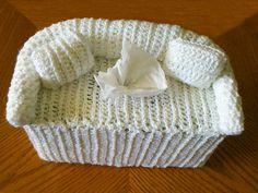Crochet Tissue Box Covers - Tobita's Crochet Items
