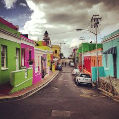 Gallery MOMO Cape Town is located near from the Colorful streets of Bo-Kaap, Cape Town.  #bokaap #capetown #colours #colors #southafrica #art #architecture #streetart