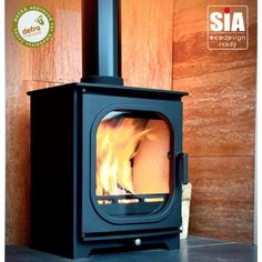 Ecosy+ Hampton 5 RD1 Defra Approved - Ecodesign Ready (2022) - 5kw Wood Burning Stove - 7 Year Guarantee - Black Multi Fuel Stove, Wood Stoves, Wood Burning, The Hamptons, Home Appliances, Black, Design, House Appliances, Black People