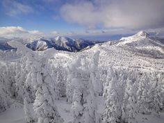 Shigakogen Yokoteyama ski resort Winter In Japan, Mount Everest, Skiing, Snow, Mountains, Nature, Travel, Outdoor, Ski