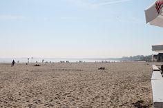 Het strand in Sopot