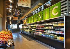 Supermarket design, retail store design, mini store, store signage, food re Design Garage, Shop Front Design, Vinyl Skirt, Mini Store, Store Signage, Food Retail, Fruit Shop, Store Layout, Retail Store Design
