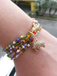 Bohemian Jewelry, Diy Jewelry, Beaded Jewelry, Jewelry Bracelets, Jewelery, Handmade Jewelry, Jewelry Design, Jewelry Making, Diy Schmuck