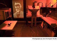 Mural darkroom