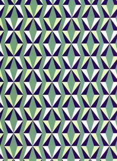 Pattern Design - bleu et vert - CoDesign Magazine Surface Design, Surface Pattern, Pattern Art, Graphic Patterns, Textile Patterns, Textiles, Pretty Patterns, Shape Patterns, Decoupage Vintage
