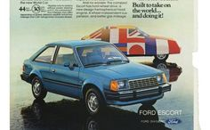 Vintage Ad: 1981 Ford Escort Was a World Car Before Focus - WOT on Motor Trend