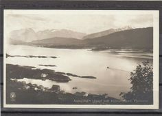 Møre og Romsdal fylke Aalesund udsigt mot Hjörundfjord fra Fjeldene Utg Oppi tidlig 1900-tall