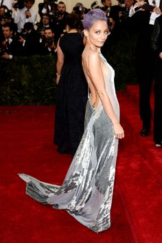 Nicole Richie--at the Met Gala...very unique and stylish...love the edge...