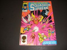 SQUADRON SUPREME #1 OF TWELVE (1985) START THE BID AT $1.50 BUY IT NOW FOR $3.00+ SHIP!!