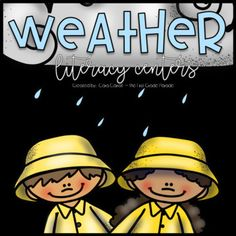 What's The Weather? 1st Grade Centers, Kindergarten Centers, Literacy Centers, Retirement Announcement, First Grade Parade, 1st Grade Science, Tongue Twisters, Weather Unit, Compound Words