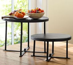 Graphite Stands | Pottery Barn