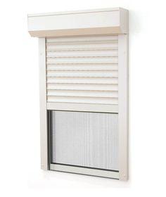 la porte fenêtre avec volet roulant integre est sur mesure il n