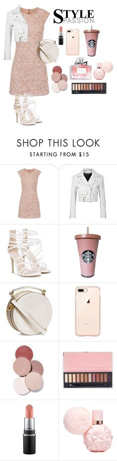 """""""Glamour Night Out"""" by pugicorns ❤ liked on Polyvore featuring Calvin Klein 205W39NYC, LunatiCK Cosmetic Labs and Christian Dior"""