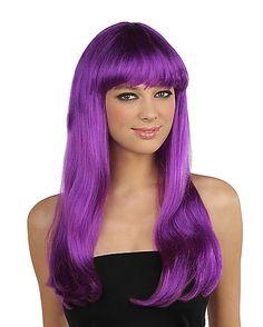 Purple Monster Wig - Spirithalloween.com