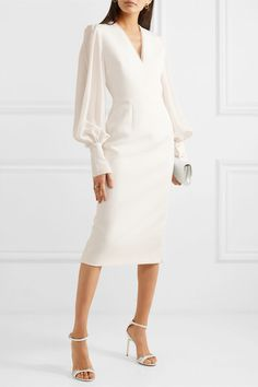 Roksanda – Essi tulle-trimmed crepe midi dress Source by embullen The post Roksanda – Essi tulle-trimmed crepe midi dress appeared first on How To Be Trendy. Tight Dresses, Sexy Dresses, Dress Outfits, Casual Dresses, Fashion Dresses, Dresses For Work, Summer Dresses, Formal Dresses, Woman Outfits
