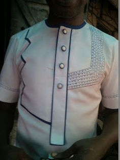 Are you a fashion designer looking for professional tailors to work with? Gazzy Consults is here to fill that void and save you the stress. We deliver both local and foreign tailors across Nigeria. Call or whatsapp 08144088142 African Shirts, African Print Dresses, African Dress, African Inspired Fashion, African Men Fashion, African Women, Mens Fashion Wear, Suit Fashion, African Attire