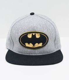Boné infantil Modelo aba reta Estampa Batman Marca  DC Originals COLEÇÃO  VERÃO 2017 Veja outras c0452cca07a