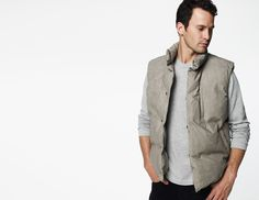James Perse Lined Puffer Vest