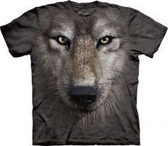 Tričko Tvár vlka - detské